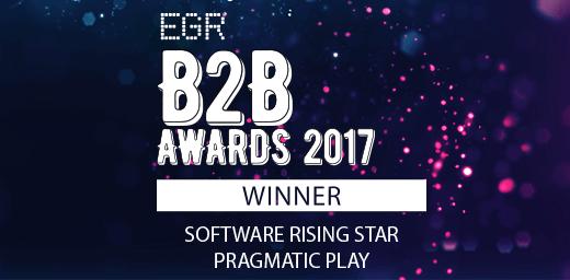 Star quality: Pragmatic Play wins prestigious B2B award