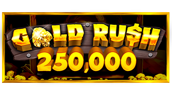 Gold Rush Scratchcard Logo