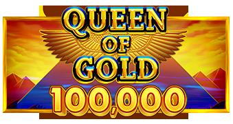 Queen of Gold Scratchcard Logo