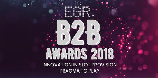 PRAGMATIC PLAY CEMENTS POSITION AS TOP PROVIDER WITH PRESTIGIOUS EGR B2B AWARDS WIN!