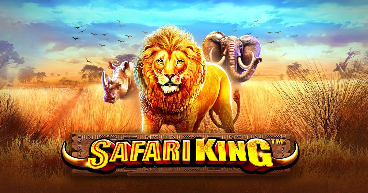 EXPLORE THE SAVANNAH IN PRAGMATIC PLAY'S LATEST RELEASE: SAFARI KING