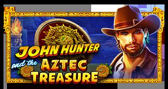 John Hunter and the Aztec Treasure™ Logo