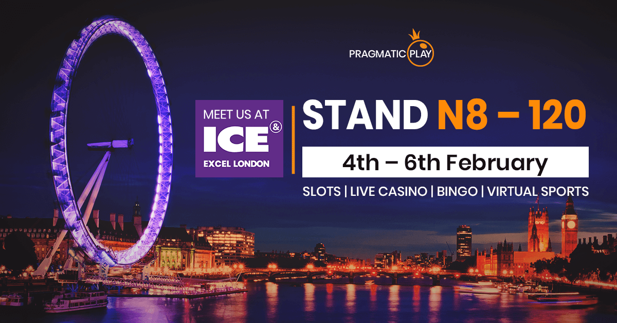 Pragmatic Play to show off new product offering during ICE London