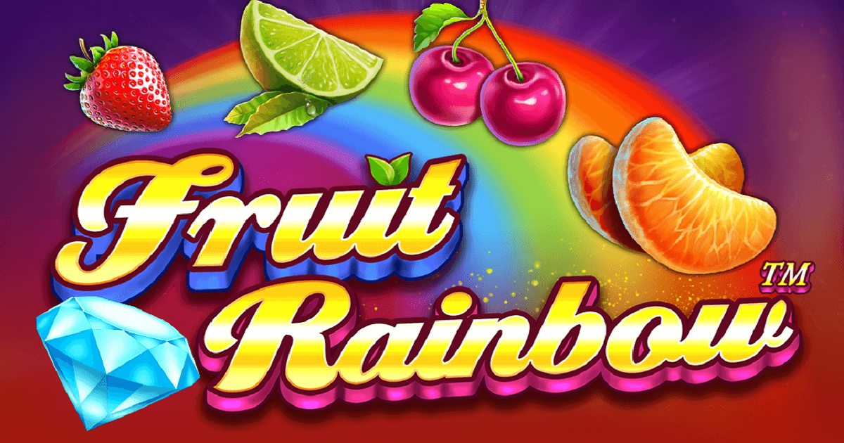 PRAGMATIC PLAY PUTS ON A MULTICOLOUR SHOW WITH FRUIT RAINBOW
