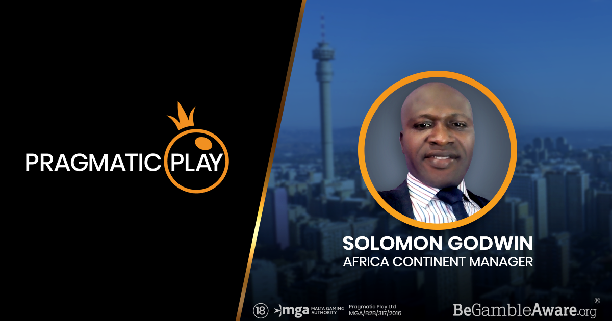 PRAGMATIC PLAY EXPANDS TO AFRICA AND APPOINTS SOLOMON GODWIN AS HUB VP