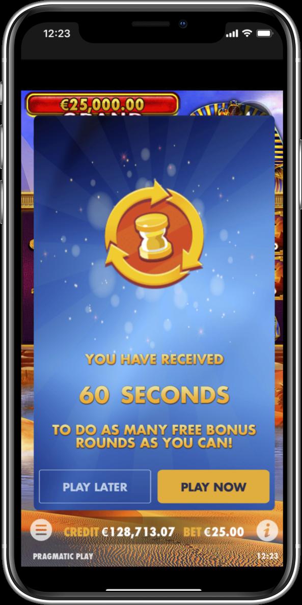Countdown Free Round Bonuses