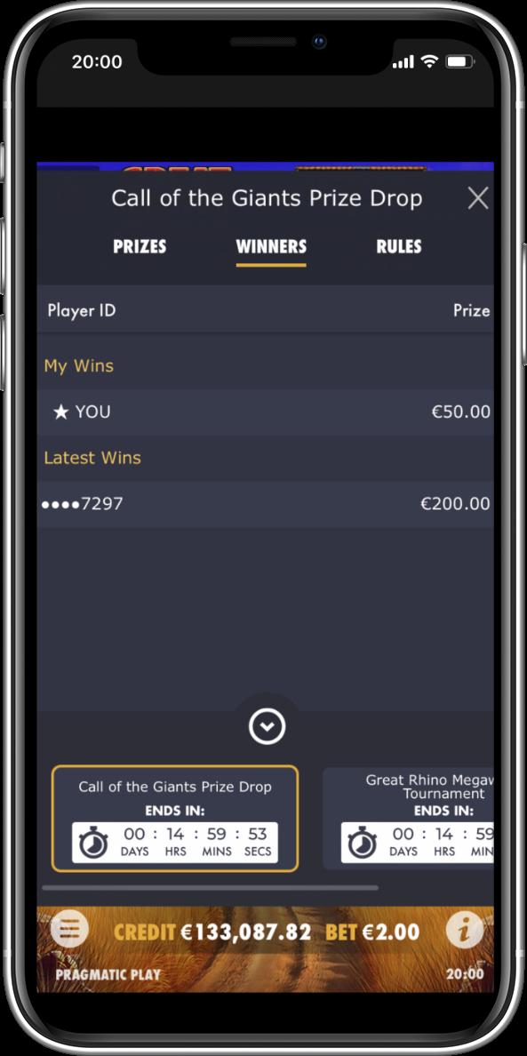 Prize Drops