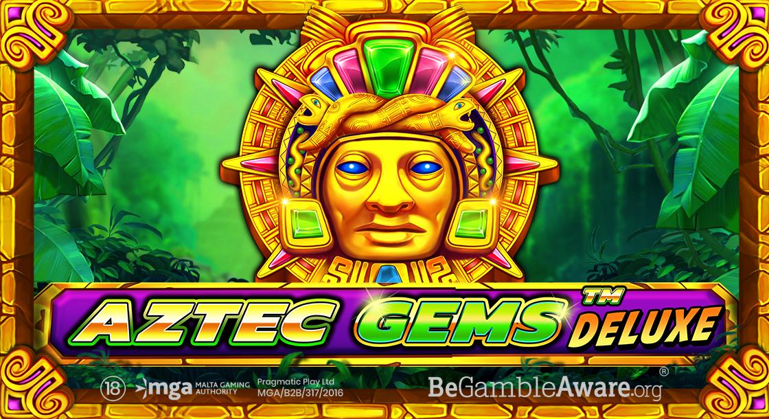 PRAGMATIC PLAY LANZA UN NUEVO Y BRILLANTE ÉXITO: AZTEC GEMS DELUXE