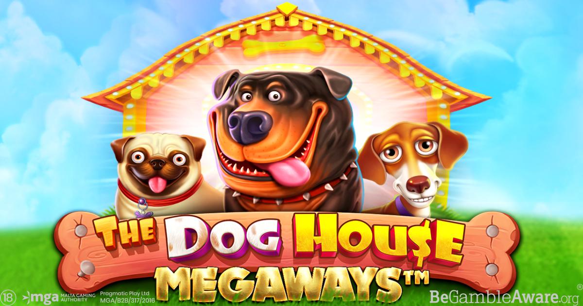 PRAGMATIC PLAY ÄR TILLBAKA MED DE ÄLSKADE HUNDARNA I THE DOG HOUSE MEGAWAYS™