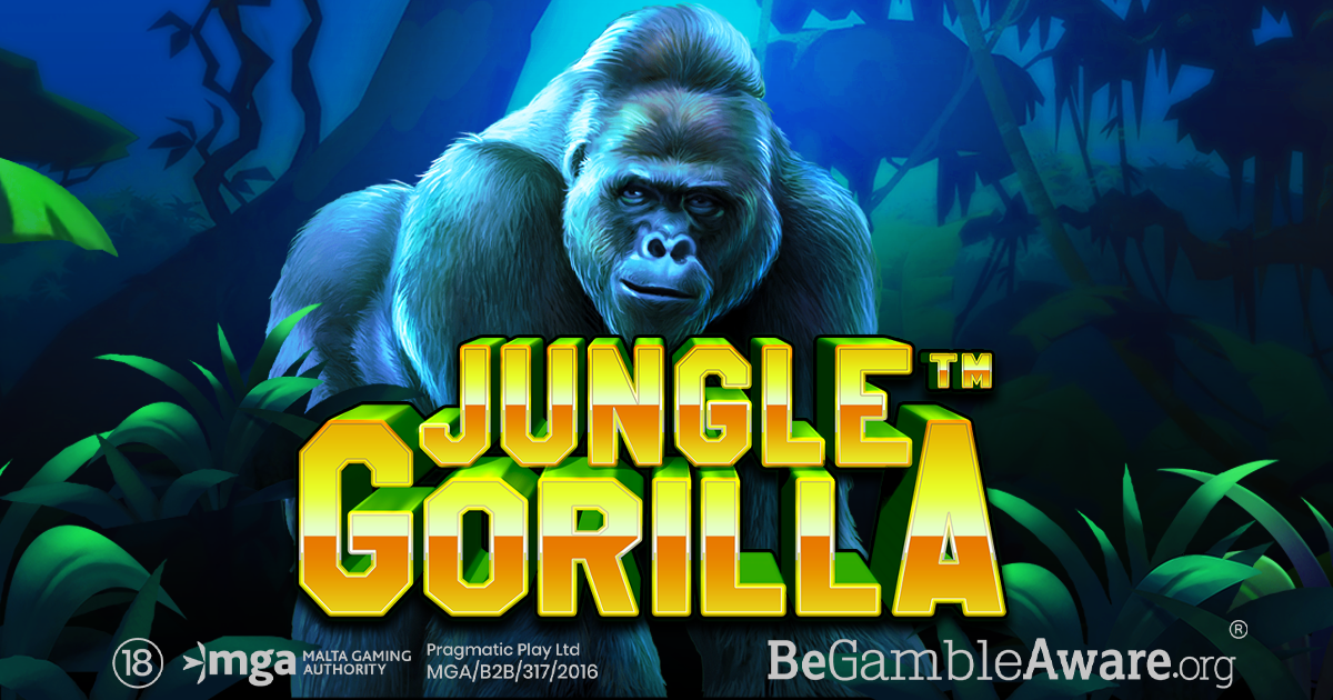 PRAGMATIC PLAY LANCIA LA TERZA SLOT DI AGOSTO, JUNGLE GORILLA