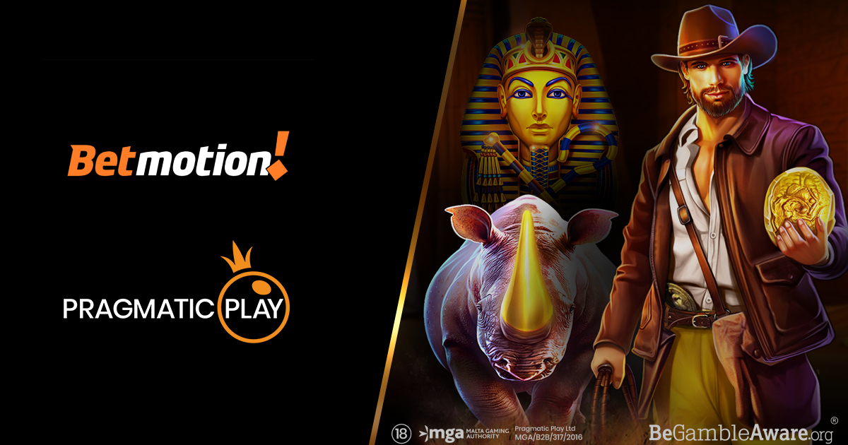 PRAGMATIC PLAY AGREES COLLABORATION DEAL WITH BETMOTION