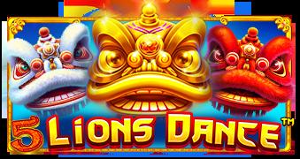 5 Lions Dance™ Logo