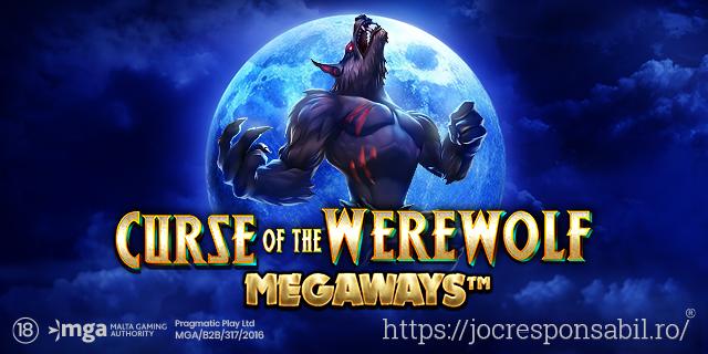 PRAGMATIC PLAY LANSEAZĂ ÎNSPĂIMÂNTĂTORUL CURSE OF THE WEREWOLF MEGAWAYS™