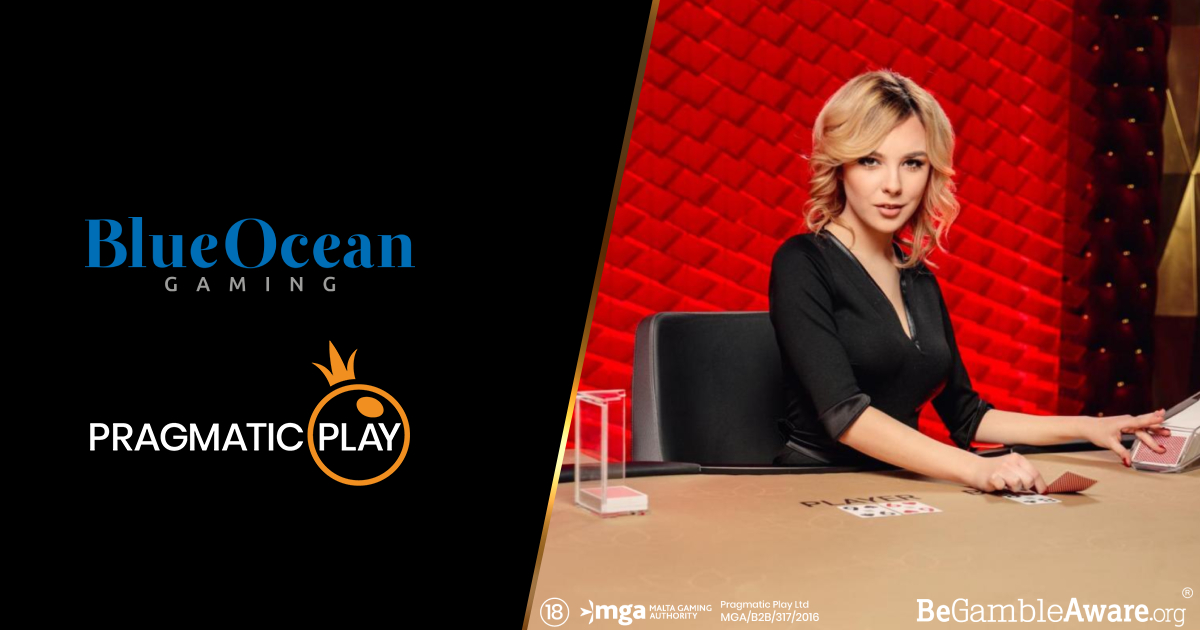 IL CASINÒ LIVE DI PRAGMATIC PLAY È ADESSO DISPONIBILE CON BLUEOCEAN GAMING