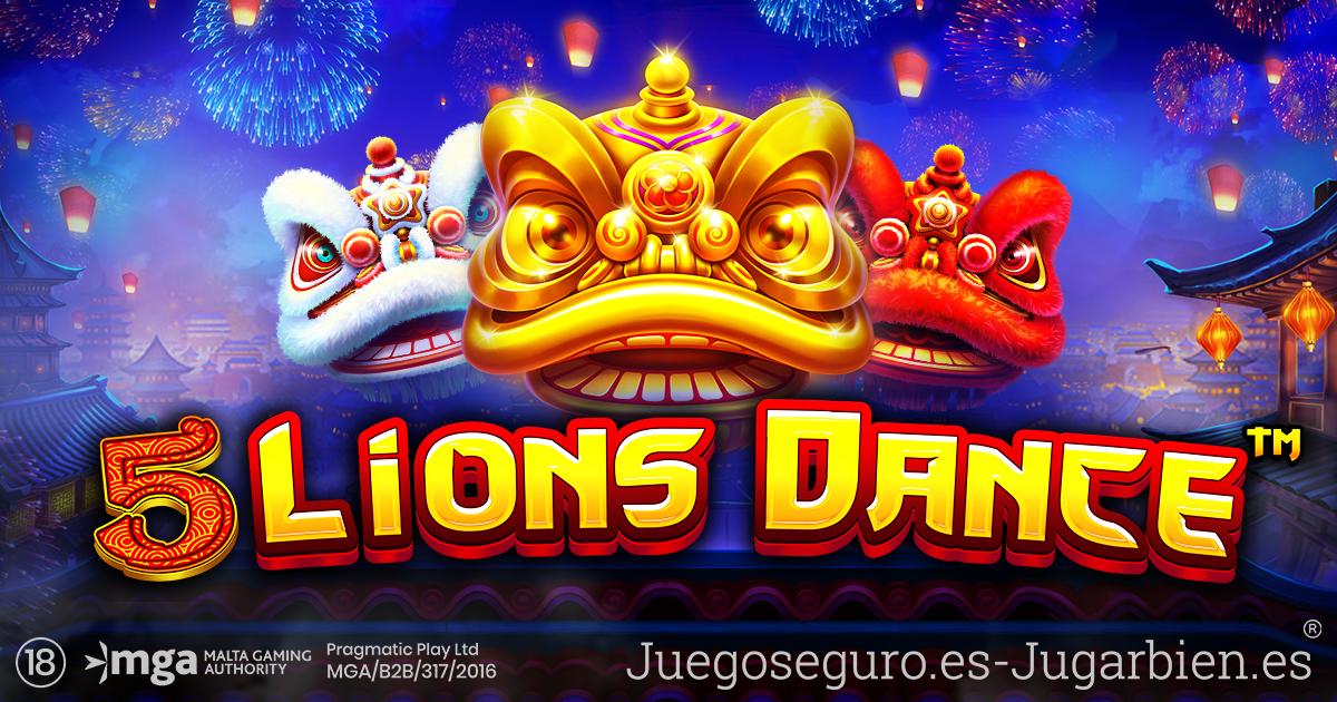 PRAGMATIC PLAY COMIENZA LA CELEBRACIÓN CON 5 LIONS DANCE