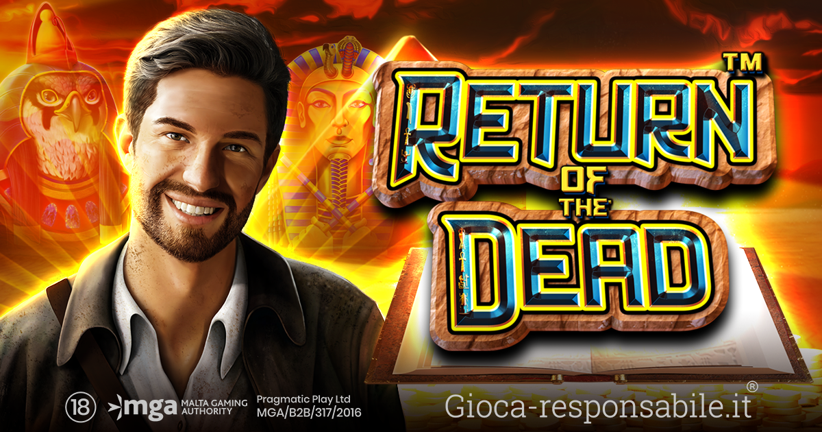 PRAGMATIC PLAY LANCIA UNA NUOVA SLOT IN COLLABORAZIONE CON REEL KINGDOM: RETURN OF THE DEAD