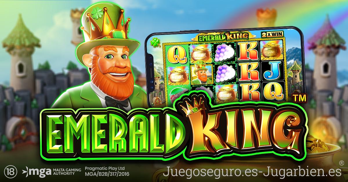 PRAGMATIC PLAY VIAJA AL REINO MÍSTICO DE EMERALD KING
