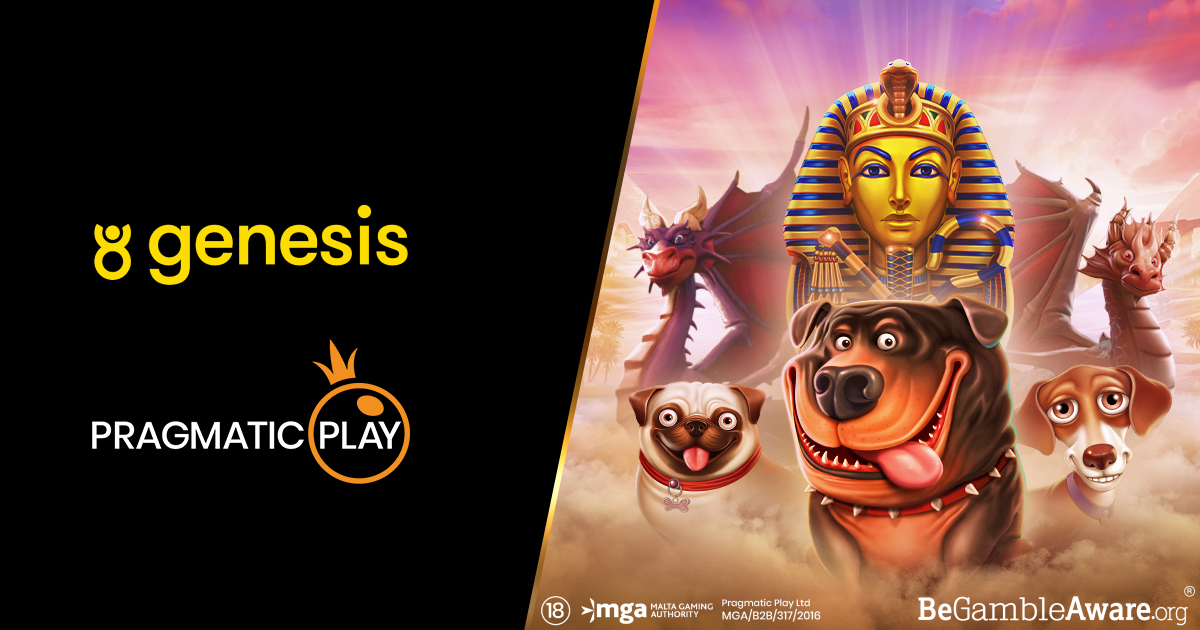 PRAGMATIC PLAY GAMES NOW AVAILABLE AT GENESIS GLOBAL CASINOS