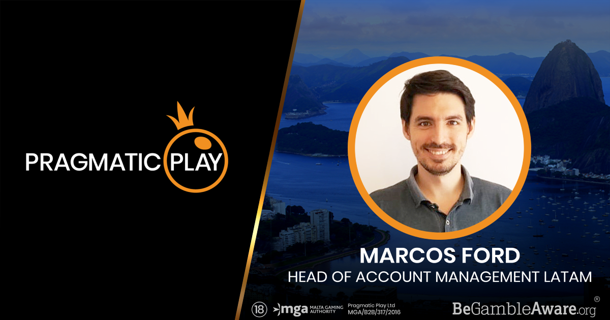 PRAGMATIC PLAY STRENGTHENS ITS LATAM HUB APPOINTING MARCOS FORD AS HEAD OF ACCOUNT MANAGEMENT