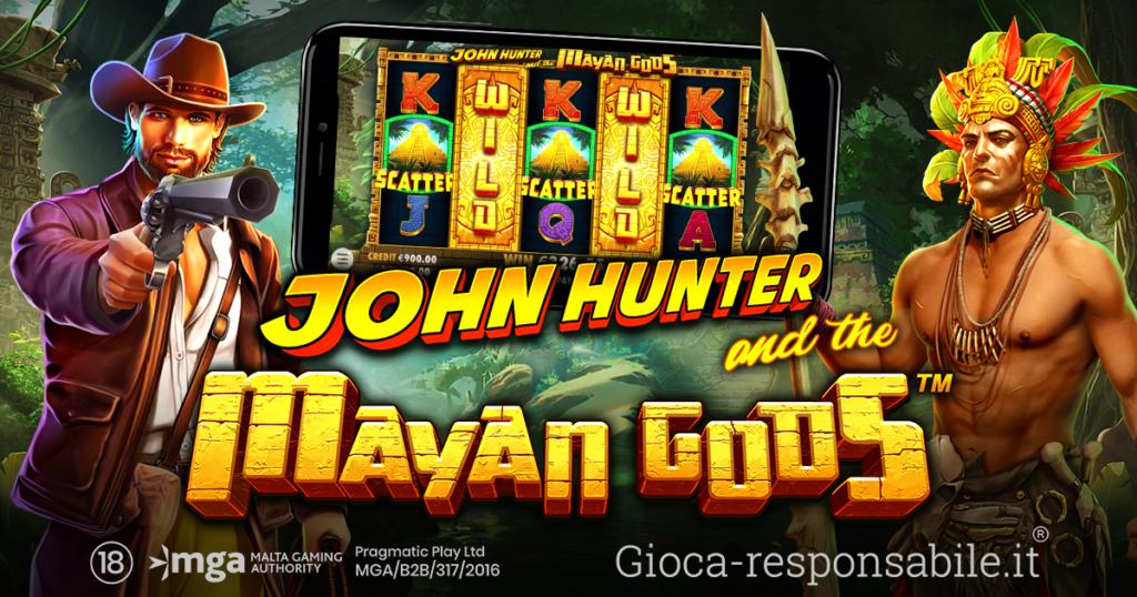 John-Hunter-and-the-Mayan-Gods-nuova-slot-Pragmatic-Play