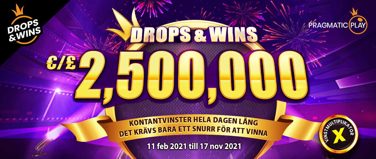 Drops and Wins 2021 Banner