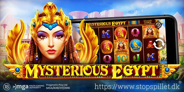 PRAGMATIC PLAY LØFTER SLØRET FOR NY JUVEL I SENESTE SPILUDGIVELSE, MYSTERIOUS EGYPT