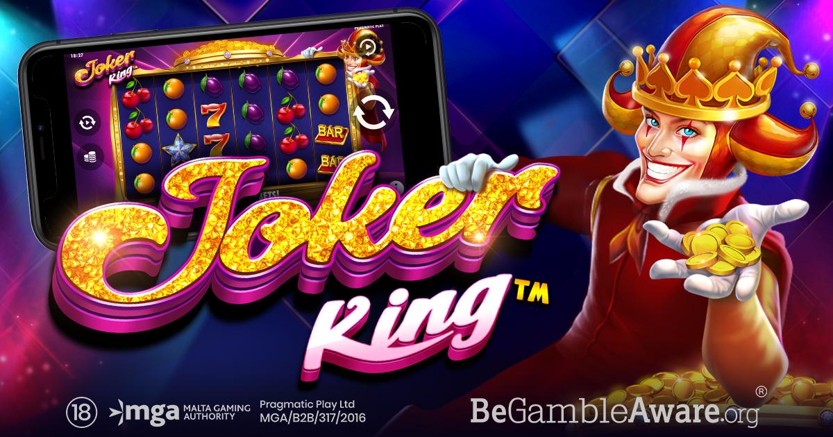 PRAGMATIC PLAY เปิดตัวเกมใหม่มาเสริมทัพสล็อตของเรา โดยการดึงความคลาสสิกของเกมออกมา: JOKER KING