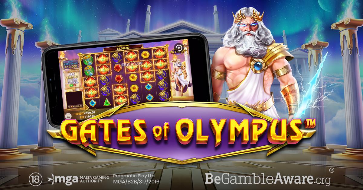 PRAGMATIC PLAY TUJUKAN SYURGA DI GATES OF OLYMPUS