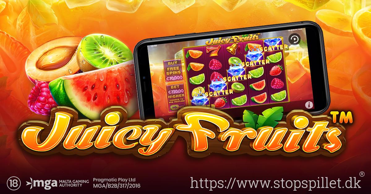 PRAGMATIC PLAY UDGIVER NY SPILLEMASKINE FULD AF FRUGTER, JUICY FRUITS