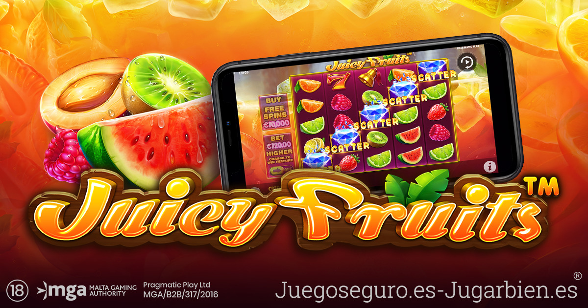 PRAGMATIC PLAY LANZA SU APETITOSO TÍTULO JUICY FRUITS