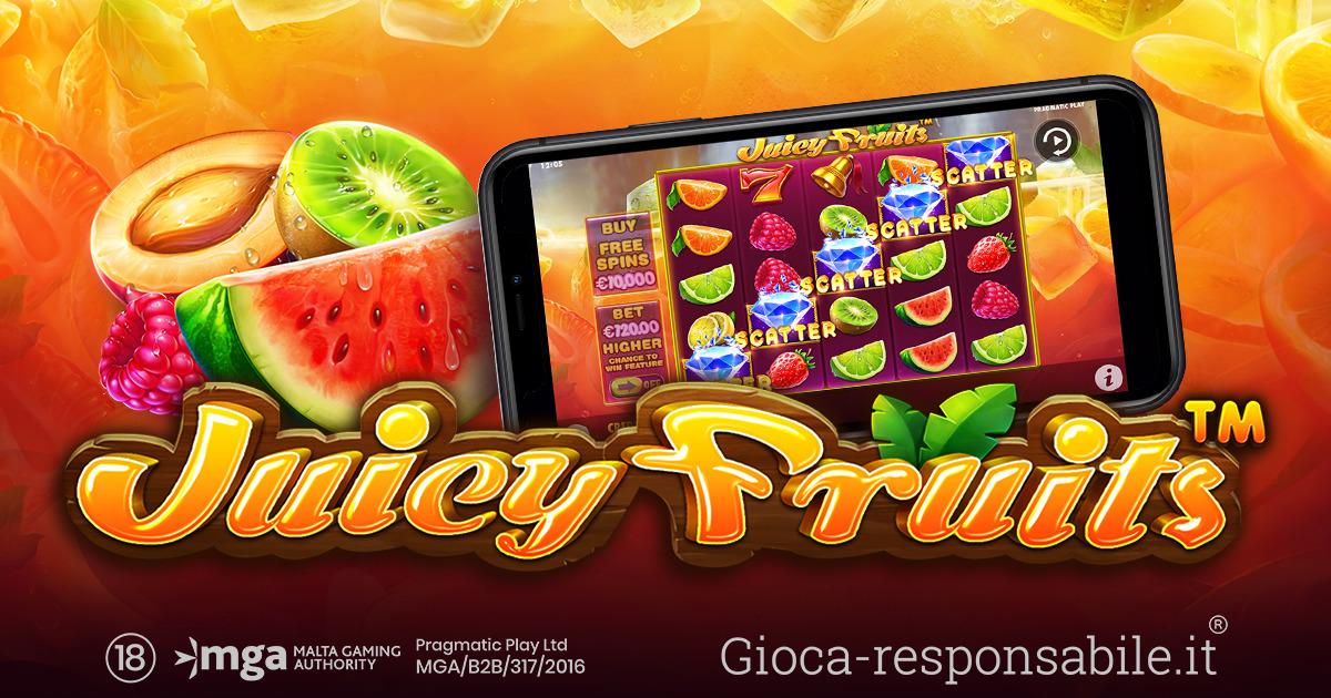 PRAGMATIC PLAY INAUGURA LA PRIMAVERA CON LA SLOT JUICY FRUITS