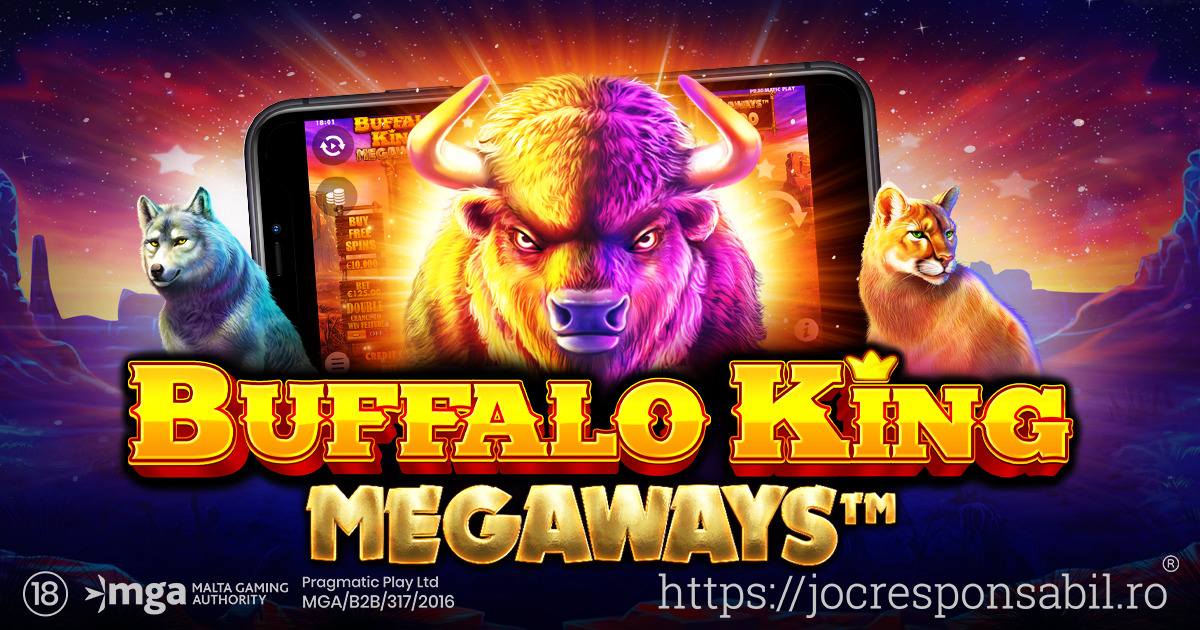 PRAGMATIC PLAY INTRODUCE UN NOU SLOT ÎN OFERTA SA: BUFFALO KING MEGAWAYS™