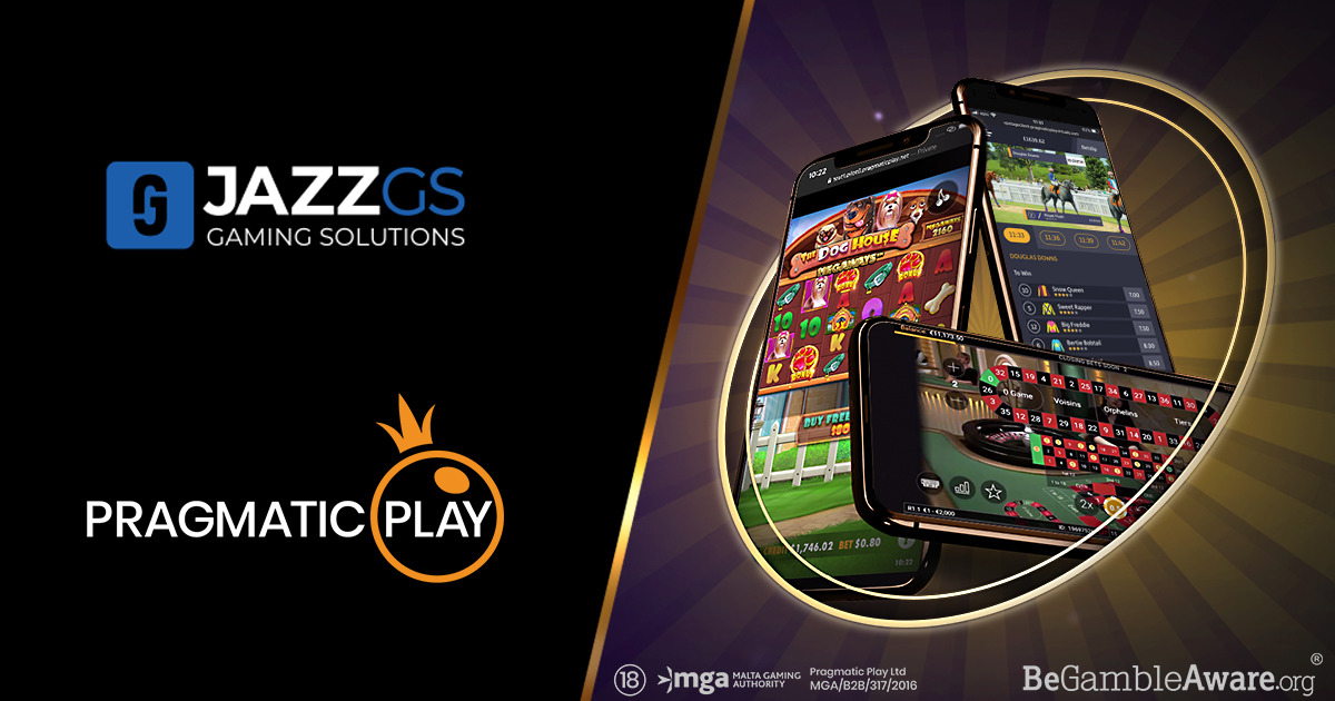 PRAGMATIC PLAY TAKES THREE VERTICALS LIVE WITH JAZZ GAMING