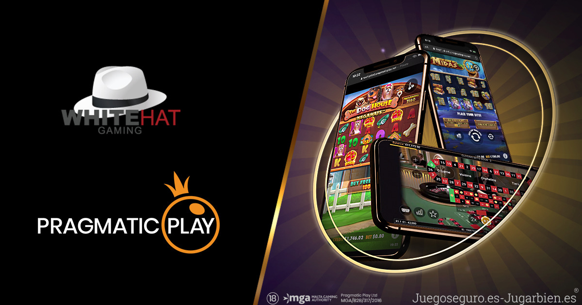 PRAGMATIC PLAY OFRECERÁ A WHITE HAT GAMING MÚLTIPLES VERTICALES