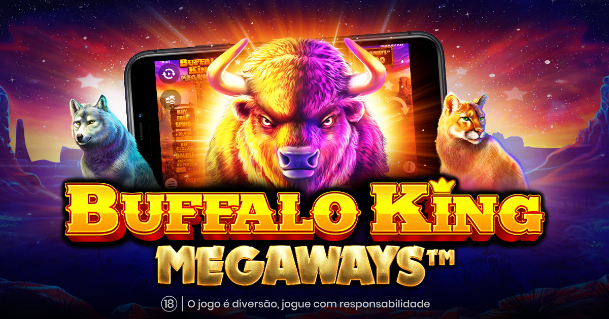 PRAGMATIC PLAY RENOVA UM CLASSICO EM BUFFALO KING MEGAWAYS