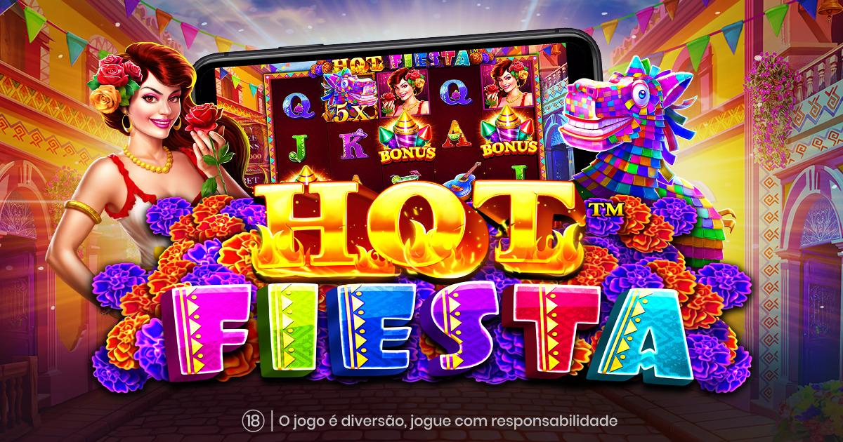 PRAGMATIC PLAY COMEÇA A FESTA COM O HOT FIESTA