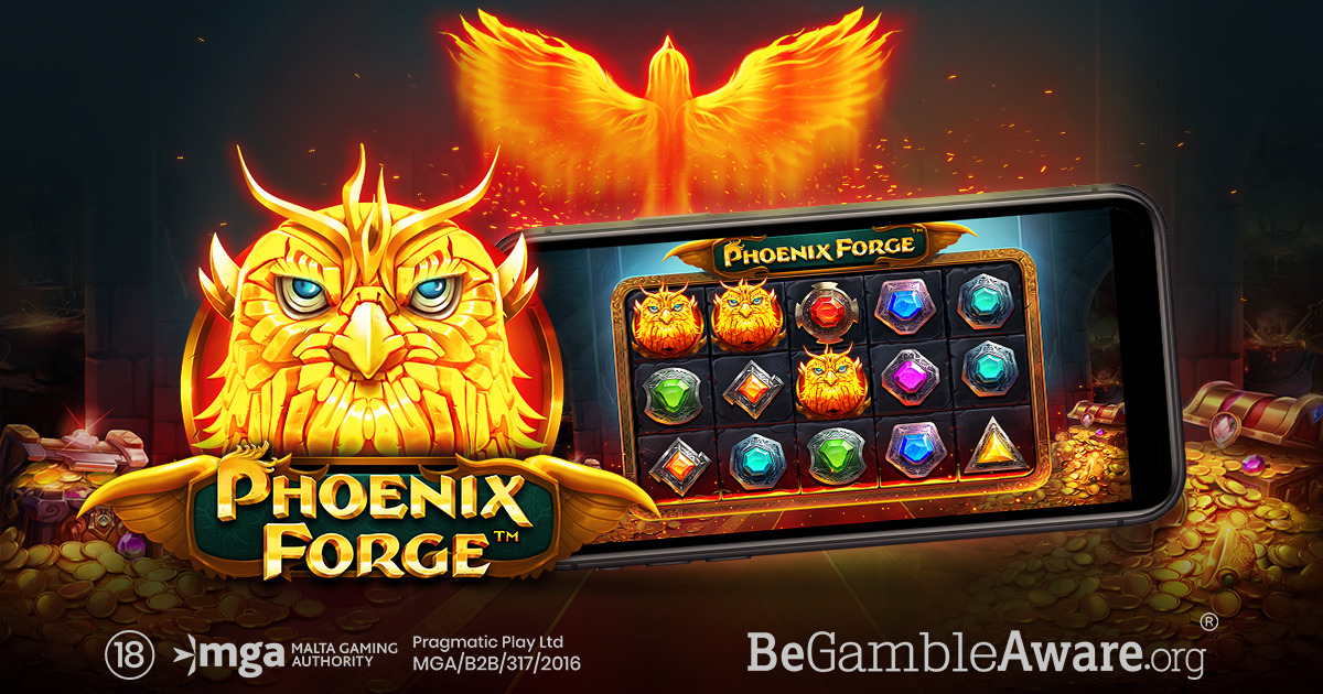 PRAGMATIC PLAY SET FOR MASSIVE MULTIPLIERS IN PHOENIX FORGE