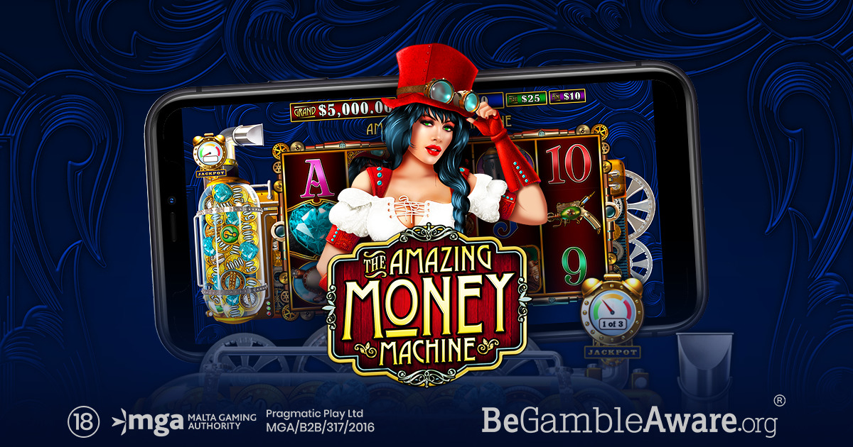 PRAGMATIC PLAY GETS READY TO CHURN OUT WINS IN THE AMAZING MONEY MACHINE