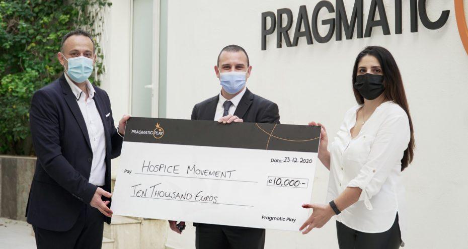 PRAGMATIC PLAY ПОДДЕРДЖАЛИ THE HOSPICE MOVEMENT С €10,000