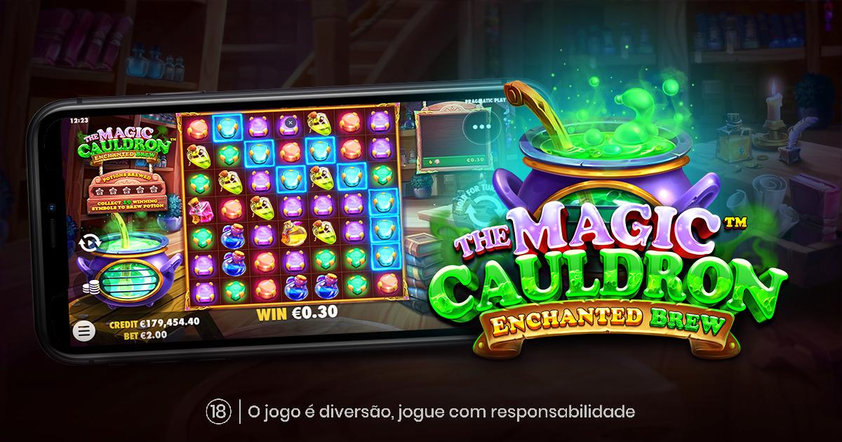 PRAGMATIC PLAY O MÁGICO JOGO THE MAGIC CAULDRON – ENCHANTED BREW