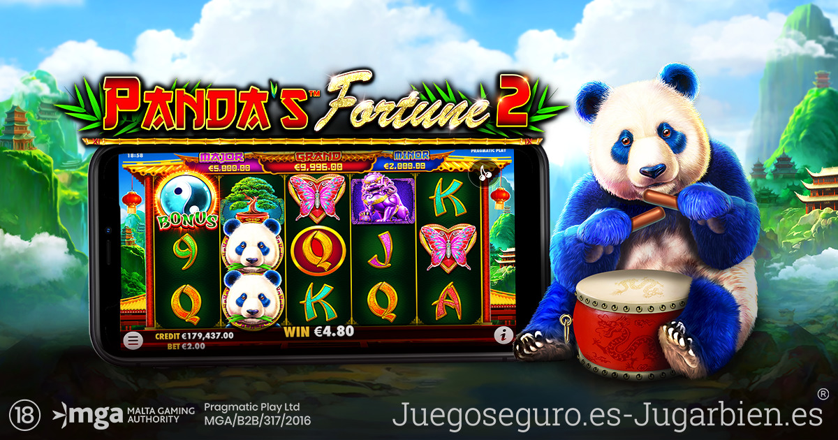 PRAGMATIC PLAY SE PREPARA PARA UNA PLÁCIDA AVENTURA EN PANDA'S FORTUNE 2