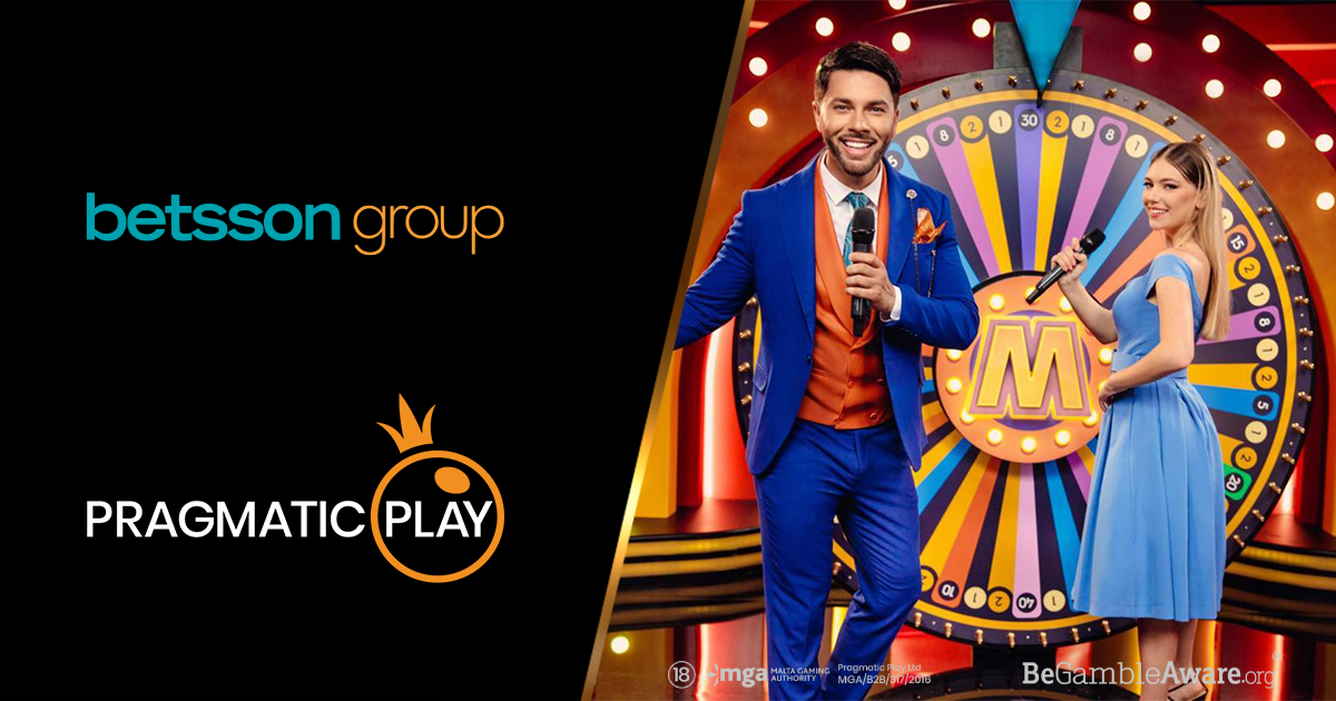 PRAGMATICPLAY EXPANDS BETSSON AGREEMENT WITH LIVE CASINO ROLLOUT