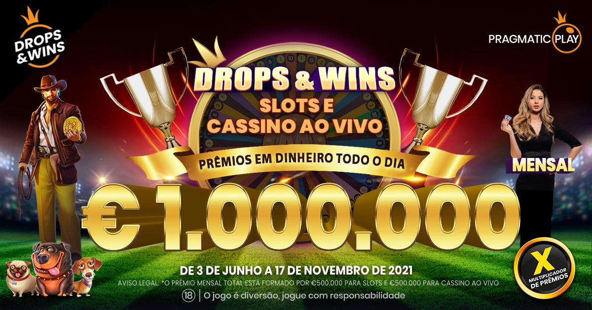 PRAGMATIC PLAY RECARREGA A PROMOÇÃO DROPS AND WINS COM €7.000.000 EM PRÊMIOS