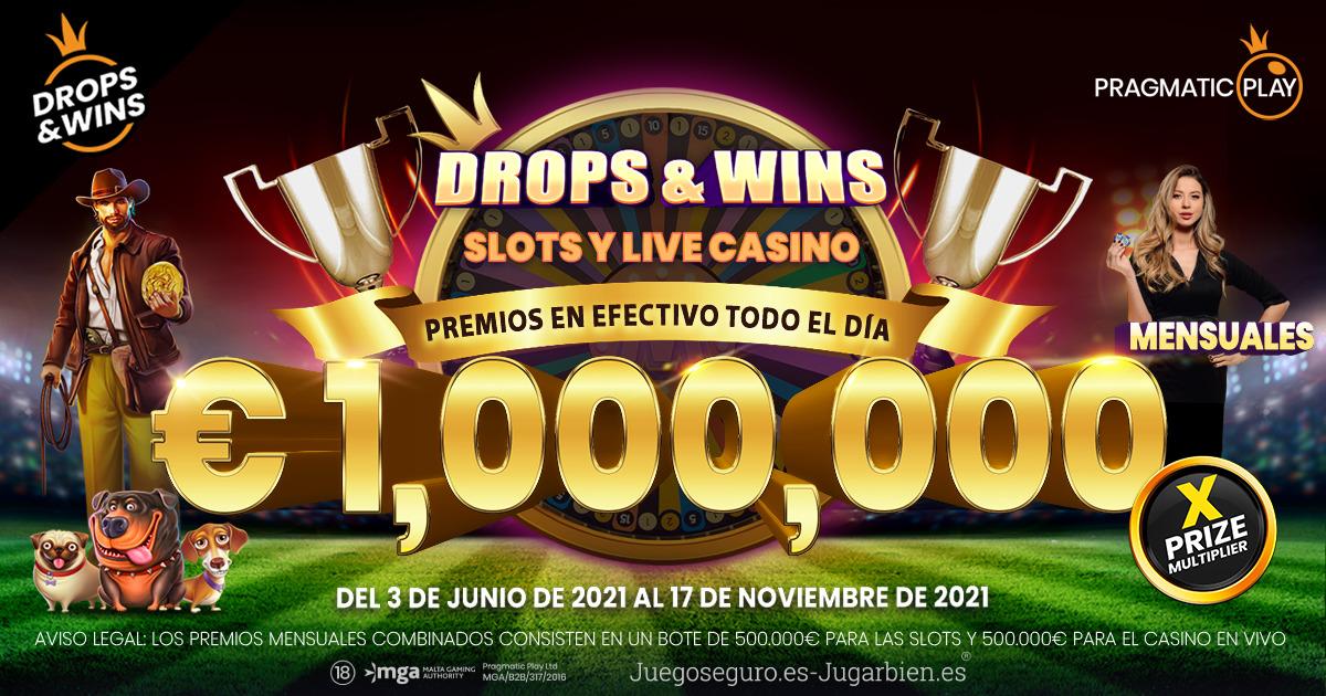 PRAGMATIC PLAY PONE EN MARCHA UNA PROMOCIÓN DE DROPS AND WINS DE 7.000.000€