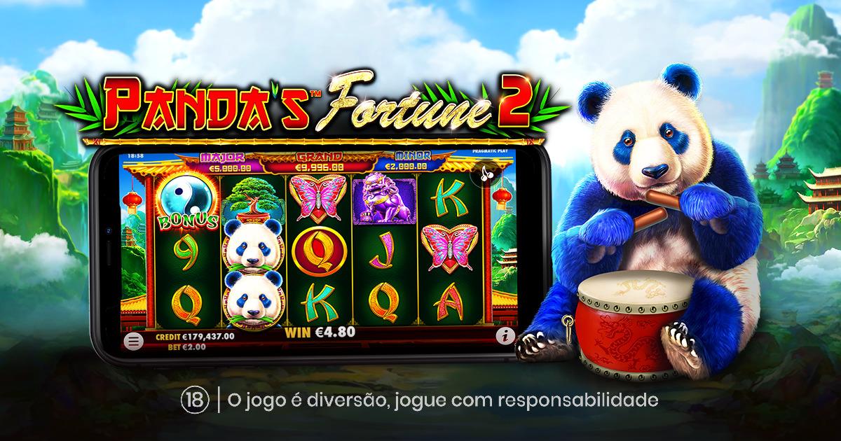 A PRAGMATIC PLAY PREPAROU UMA NOVA AVENTURA COM O PANDA'S FORTUNE 2