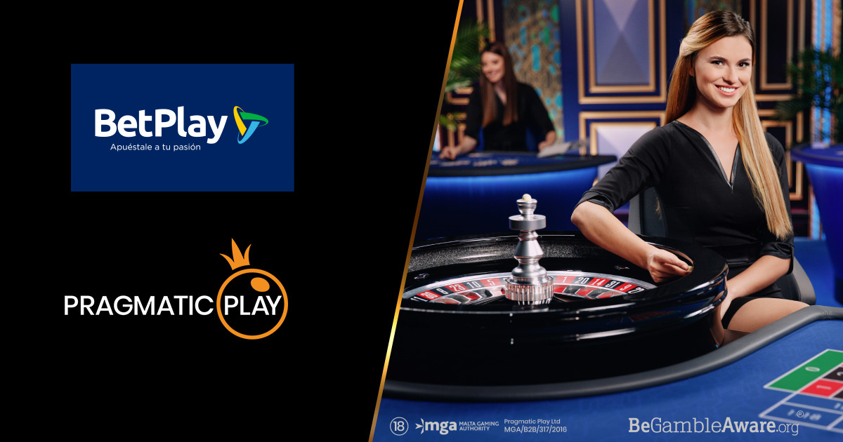 PRAGMATIC PLAY TAKES LIVE CASINO OFFERING LIVE WITH BETPLAY IN COLOMBIA