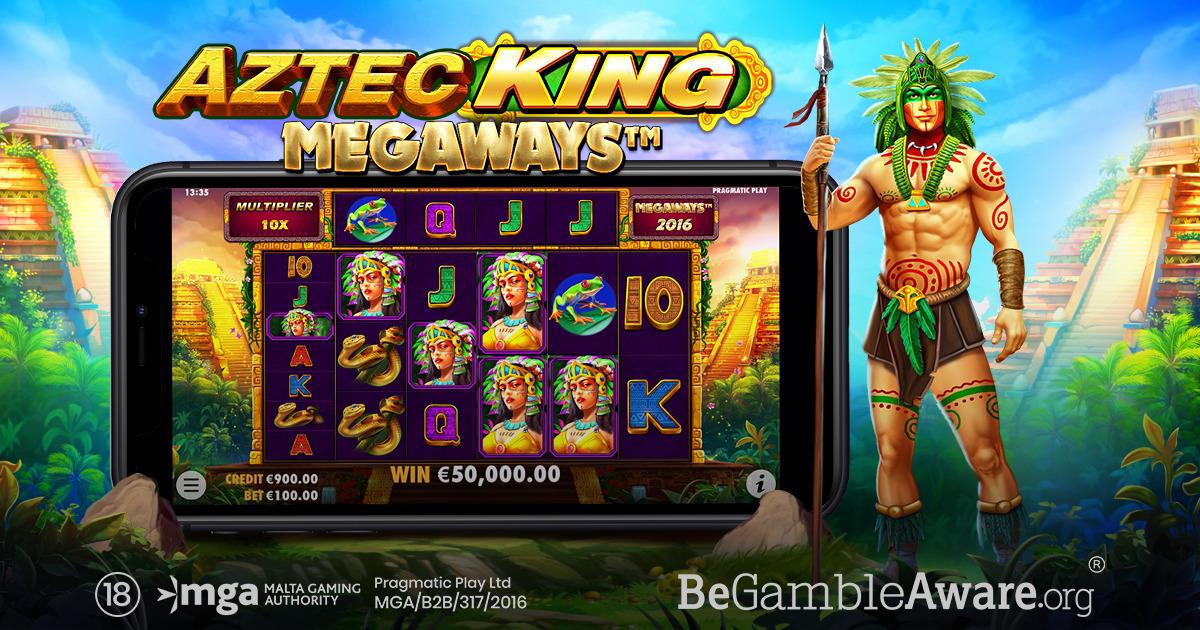 PRAGMATIC PLAY KEMBALI DENGAN SENSASI BARU DI AZTEC KING MEGAWAYS™