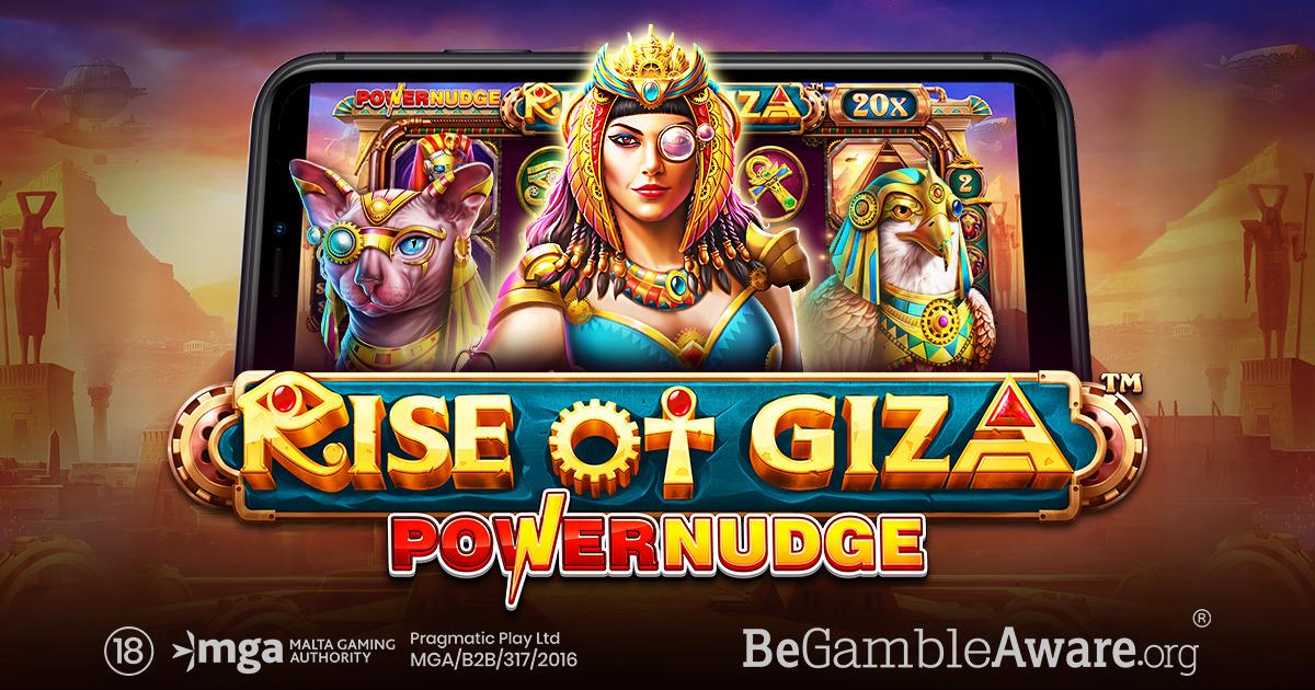 PRAGMATIC PLAY MERILIS FITUR BARU DENGAN RISE OF GIZA POWERNUDGE™