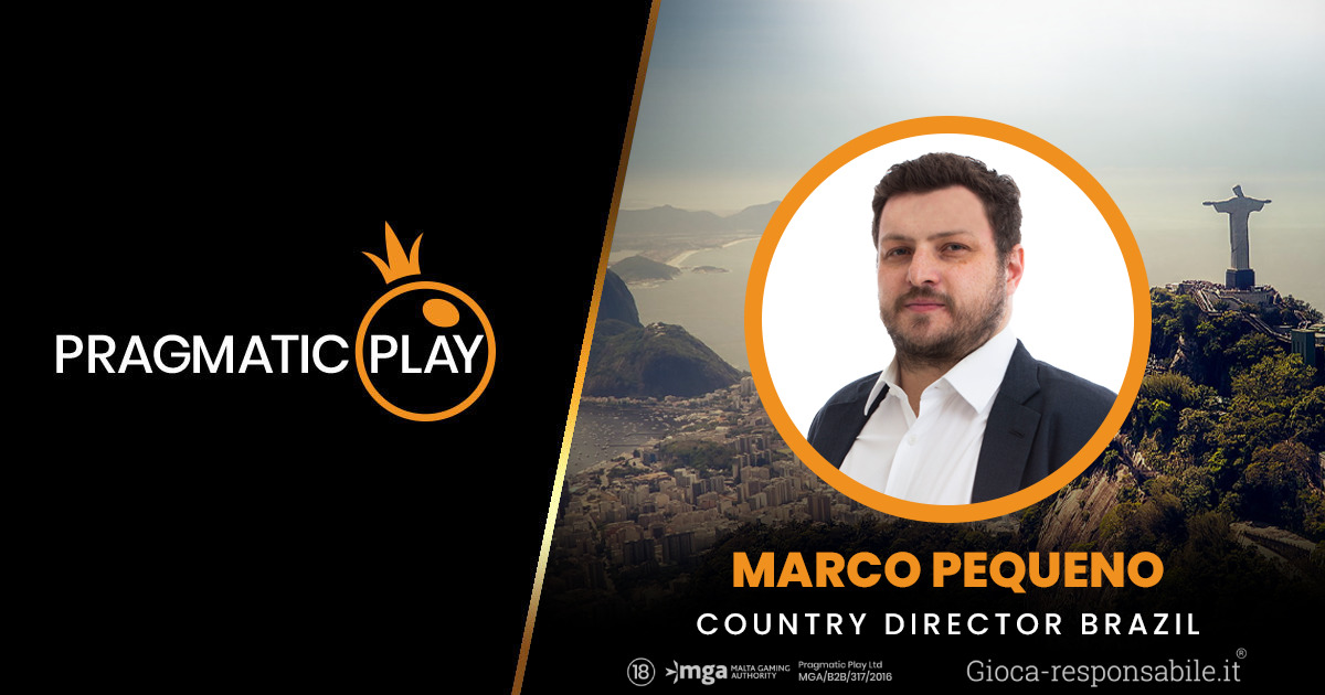 PRAGMATIC PLAY NOMINA MARCO PEQUENO COME COUNTRY DIRECTOR IN BRASILE