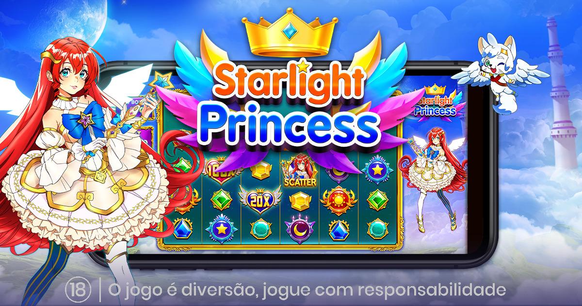 PRAGMATIC PLAY OFERECE MUITA AVENTURA COM O STARLIGHT PRINCESS™
